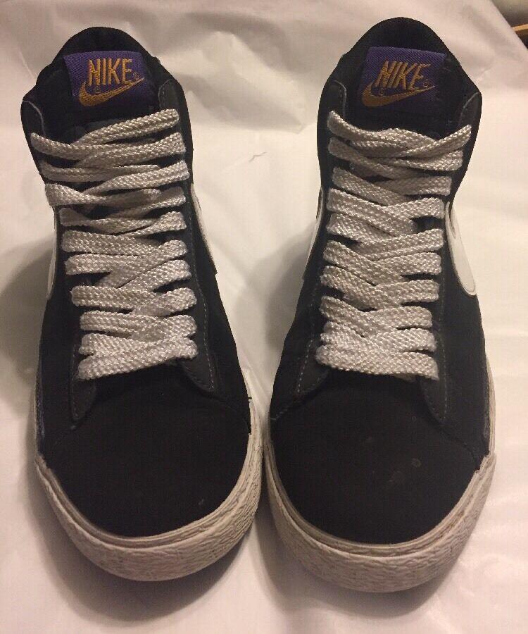 2018 BLK Nike Blazer High Halloween BLK 2018 org purp 315877-011 reducción de precios Wild Casual Shoes b9927a