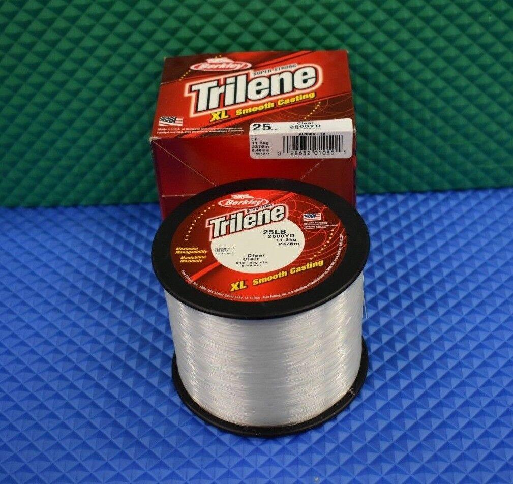 Berkley Trilene XL Smooth Casting 25LB 2600 yd Fishing Line Clear XL302515