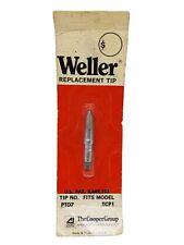 Weller Ptd7 Solder Soldering Tip For Models Pt Series Tcp1 New Oem Made Usa