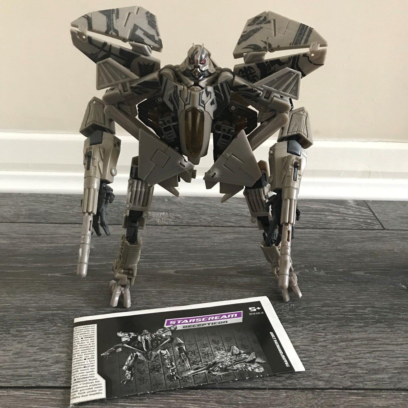 Transformers Revenge Of The Fallen Starscream Decepticon Complete W Instructions