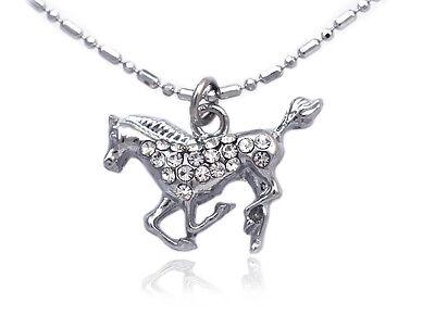 Clear Crystal Pony Horse Anklet Ankle Bracelets Toe Ring Women