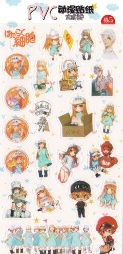 Zellen At Work Anime Sticker Japanisch Manga Niedlicher Kawaii Chibi Hataraku
