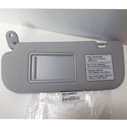 Genuine 2011-2014 Hyundai Elantra MD LH Inside Sun Visor Gray 852103X000TX