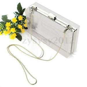 UK-Women-Evening-Party-Acrylic-Perspex-Transparent-Clutch-Box-Purse-Bag-Handbag