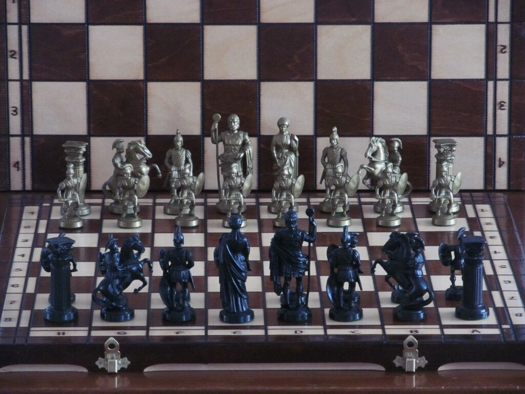 BRAND NEW SPARTAN♞ WOODEN CHESS SET♖WEIGHTED PIECES♟GREAT CHESSBOARD