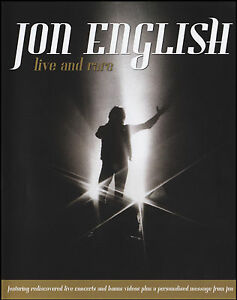 JON-ENGLISH-DVD-LIVE-amp-RARE-LIVE-IN-CONCERT-PAL-DVD-NEW