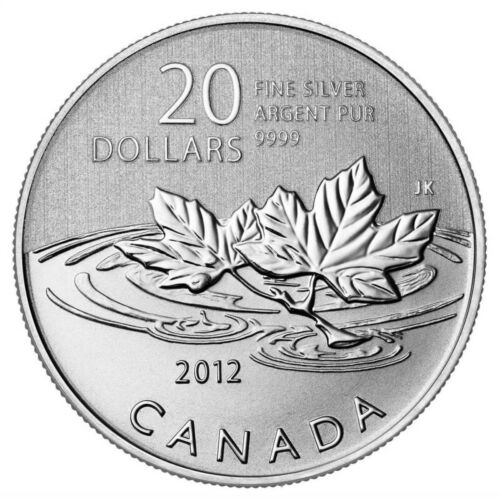 Canada 2012 $20 for $20 Farewell to the Penny Silver Coin