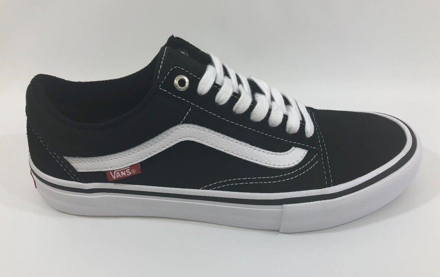 Vans Skate Old Skool Pro (Nero/White) Uomo Skate Vans Shoes fef80f