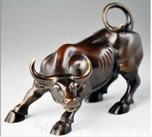 Big-Wall-Street-Bronze-Fierce-Bull-OX-Statue