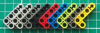 Yellow Technic 32140 NEUF Lego x 4 Liftarm 2x4 L-Shape Thick