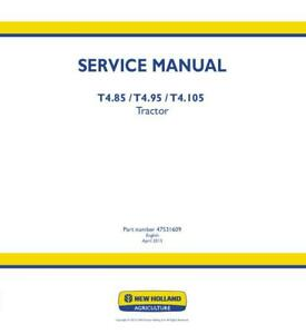 New Holland T Tractor Wiring Diagram on