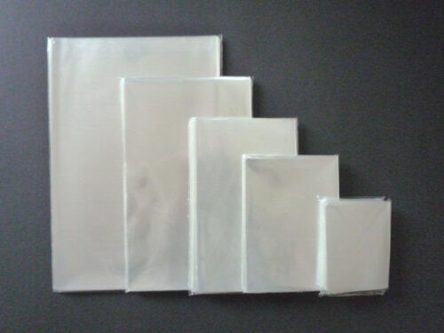 100 Stück 200x300 mm PP-Flachbeutel,Klarsichthülle,Folienbeutel Transparent