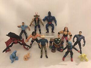 Vintage-80s-90s-Action-Figure-Bundle-Toys-Job-Lot-Toy-He-man-Jurassic-Park-Toys