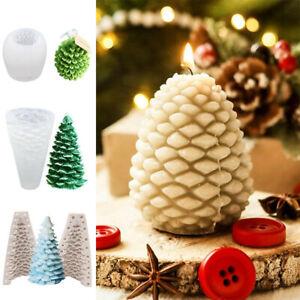 m-g-x 1/Weihnachten Silikon Kerze Form Kuchen Form Seife Form