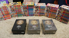 One Piece Manga/Anime Complete Up-to-Date Volumes 1-82 and Box Sets 1, 2, and 3