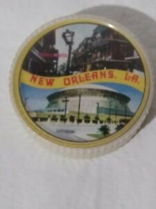 Vintage New Orleans Round Playing Cards. B9