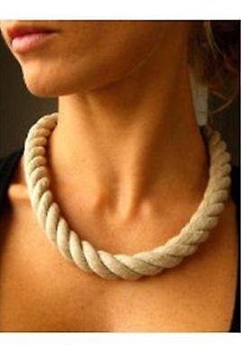 Angemessen Halskette Leinenkette Für Bernsteinanhänger 45 Cm Für Öse Ab 15 Mm