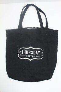 Thursday-Boot-Co-Black-Cotton-Canvas-Logo-Tote-Bag-16-H-x-14-5-W-2-Handles