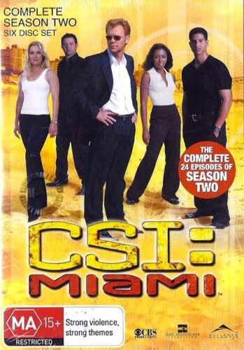 1 of 1 - C.S.I. CSI MIAMI : SEASON 2 : NEW DVD