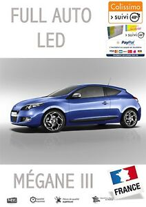 ECLAIRAGE COFFRE LED VW SCIROCCO 2008-UP XENON BLANC CANBUS FEUX ARRIERES