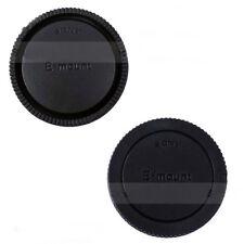 Quality Body Cap & Rear Lens Cap for Sony E-mount APS-C & FX Camera & Lenses