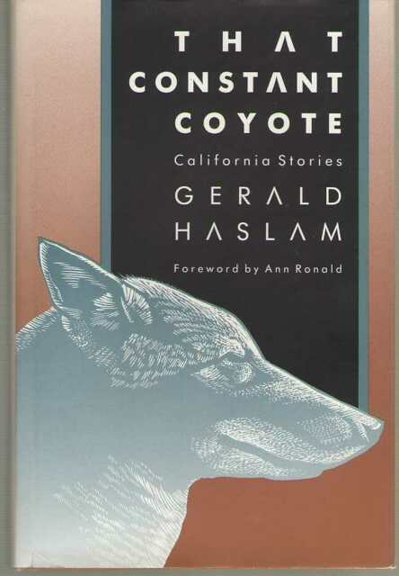 That Constant Coyote : California Stories (1990, Hardcover) 1st Edition HB/DJ