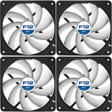 Confezione da 4 Arctic Cooling F12 120mm Case Fan 1350 RPM (AFACO-12000-GBA01) AC ARTIC