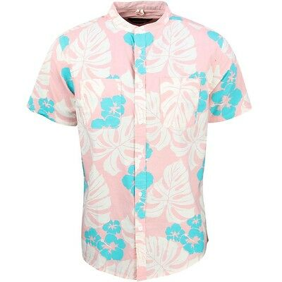 10 Deep Herren Strandhose Auffallend Kragen Hemd Pink Kaufe Eins, Bekomme Eins Gratis