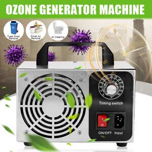 Ozone Generator Machine Food Industrial Purifier Smoke Odor Air Cleaner Ozonator