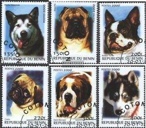 Fine Used Cancelled 2000 Breeds complete.issue. Benin I-vi