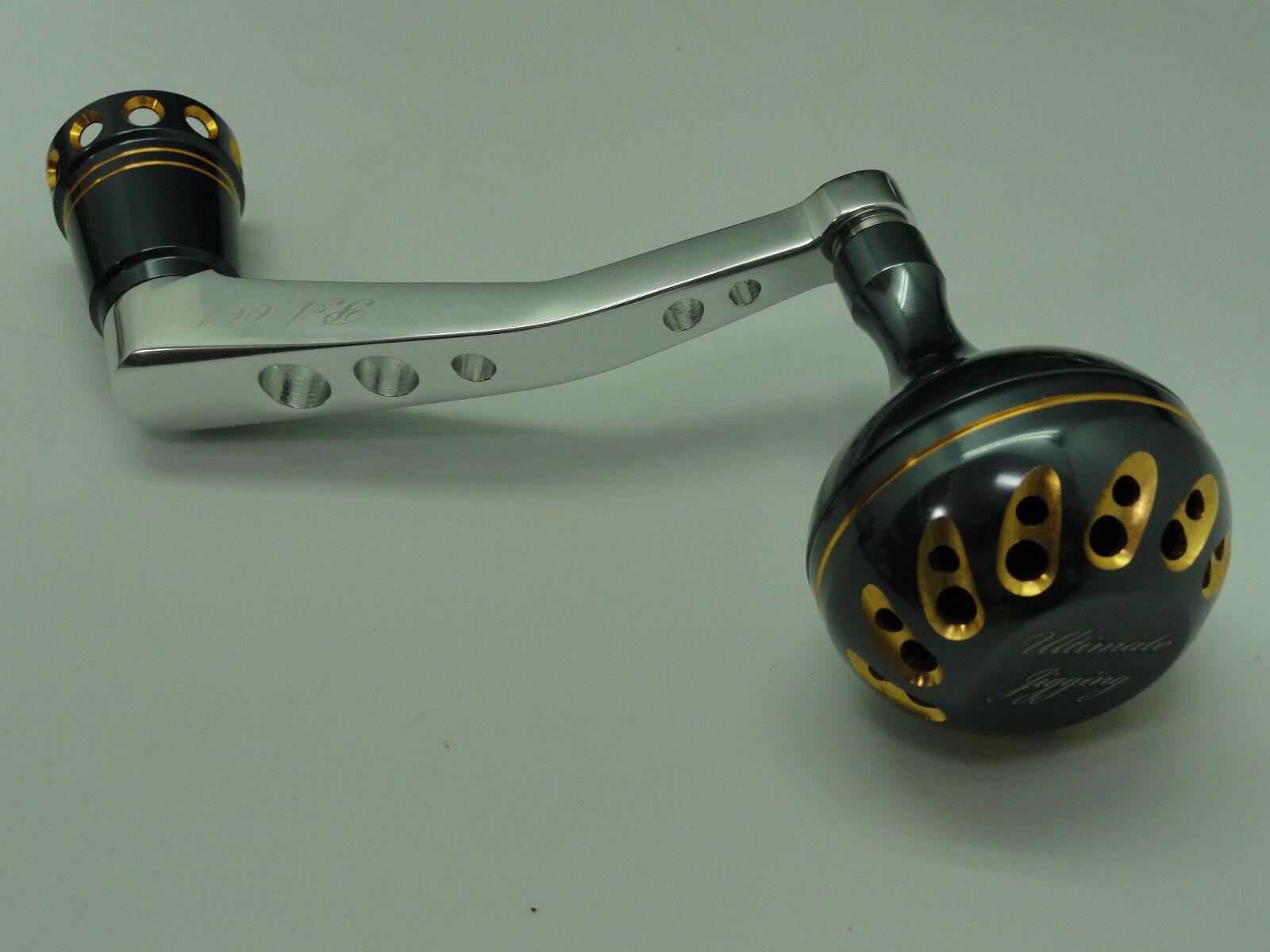 UJ arm PA001 w  PRK45mm knob for Daiwa Saltiga Dog Fight 45008000 reel GR-GD