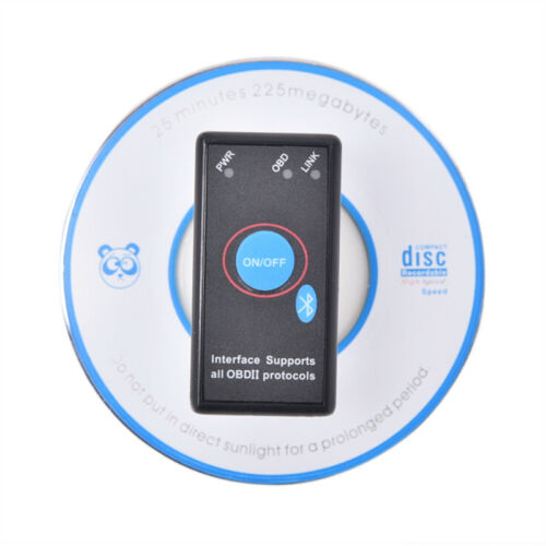ELM327 V1.5 Car Auto Code Reader Bluetooth Switch OBDII Diagnostic Tool Scanner