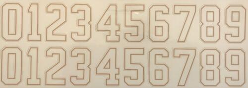 Helmet Numbers / Hockey • Football • Baseball • Lacrosse