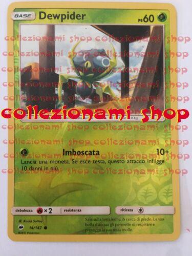 CARTA IN ITALIANO 14//147 Dewpider OMBRE INFUOCATE REVERSE HOLO FOIL