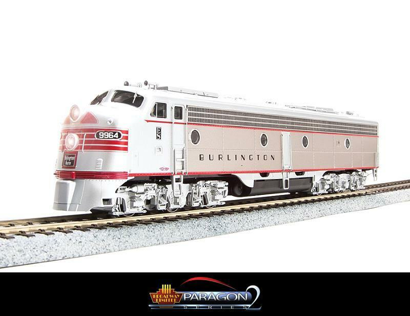 BROADWAY LIMITED 2356 HO CBQ RED E8A NUMBER 9967