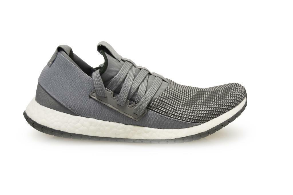 Mens Adidas PureBoost R m - BB0811 - Grey White Trainers
