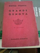 GUIDA - PIANTA della GRANDE GENOVA - 15a EDIZIONE - PAGANO