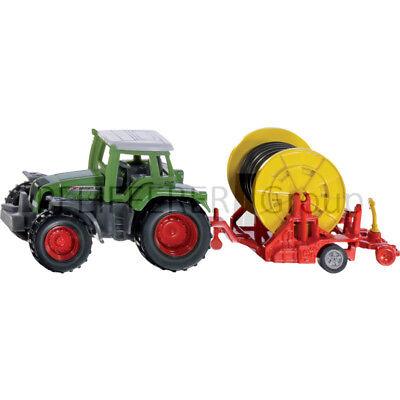 Blechspielzeug Spielzeug Effizient Siku Super 1:87 Traktor Mit Bewasserungshaspel Mangelware