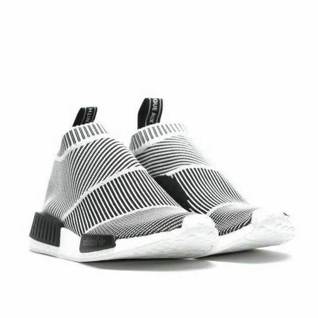 free shipping Adidas NMD City Sock Black Blue Sock Style Shoes