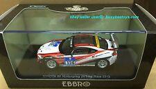 1/43 EBBRO TOYOTA 86 AE86 GT86 2013 NURBURGRING 24HR VLN #136 scale model car