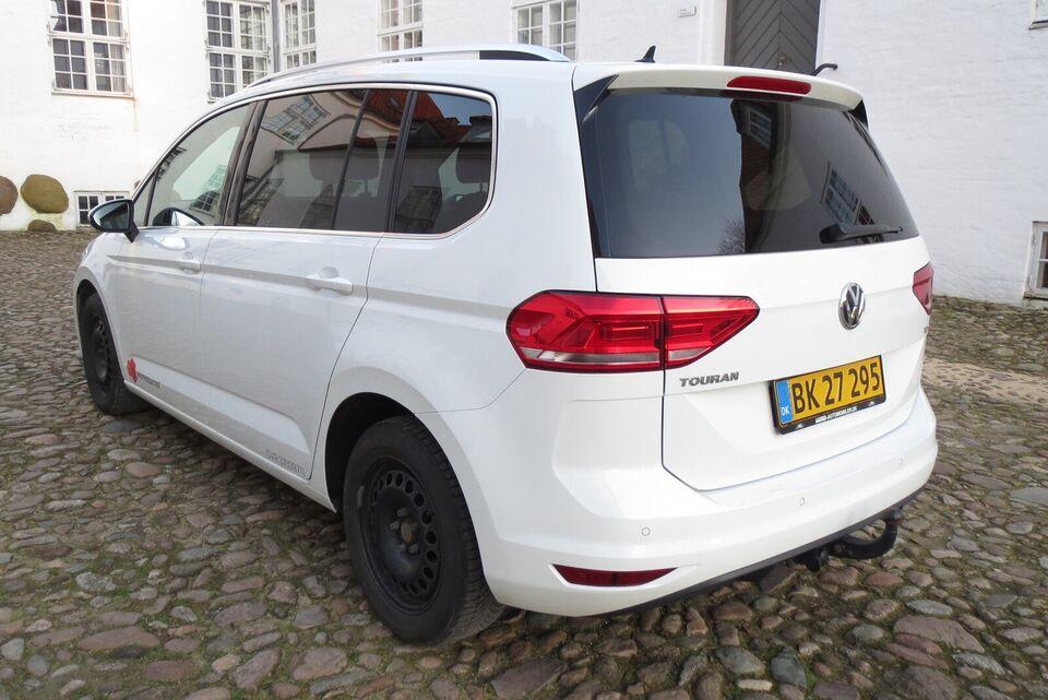 VW, Touran, 1,6 TDi 115 Highline DSG Van