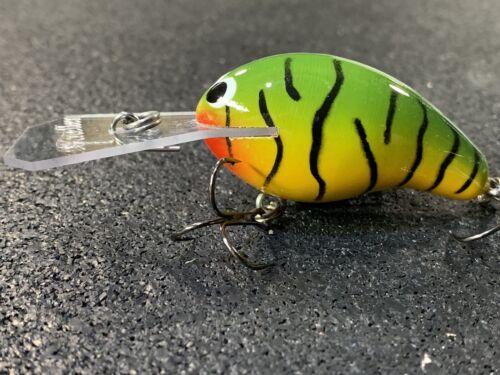SBC-50 Deep Diver Kneller Lures Green Craw Color Custom Wood Squarebill