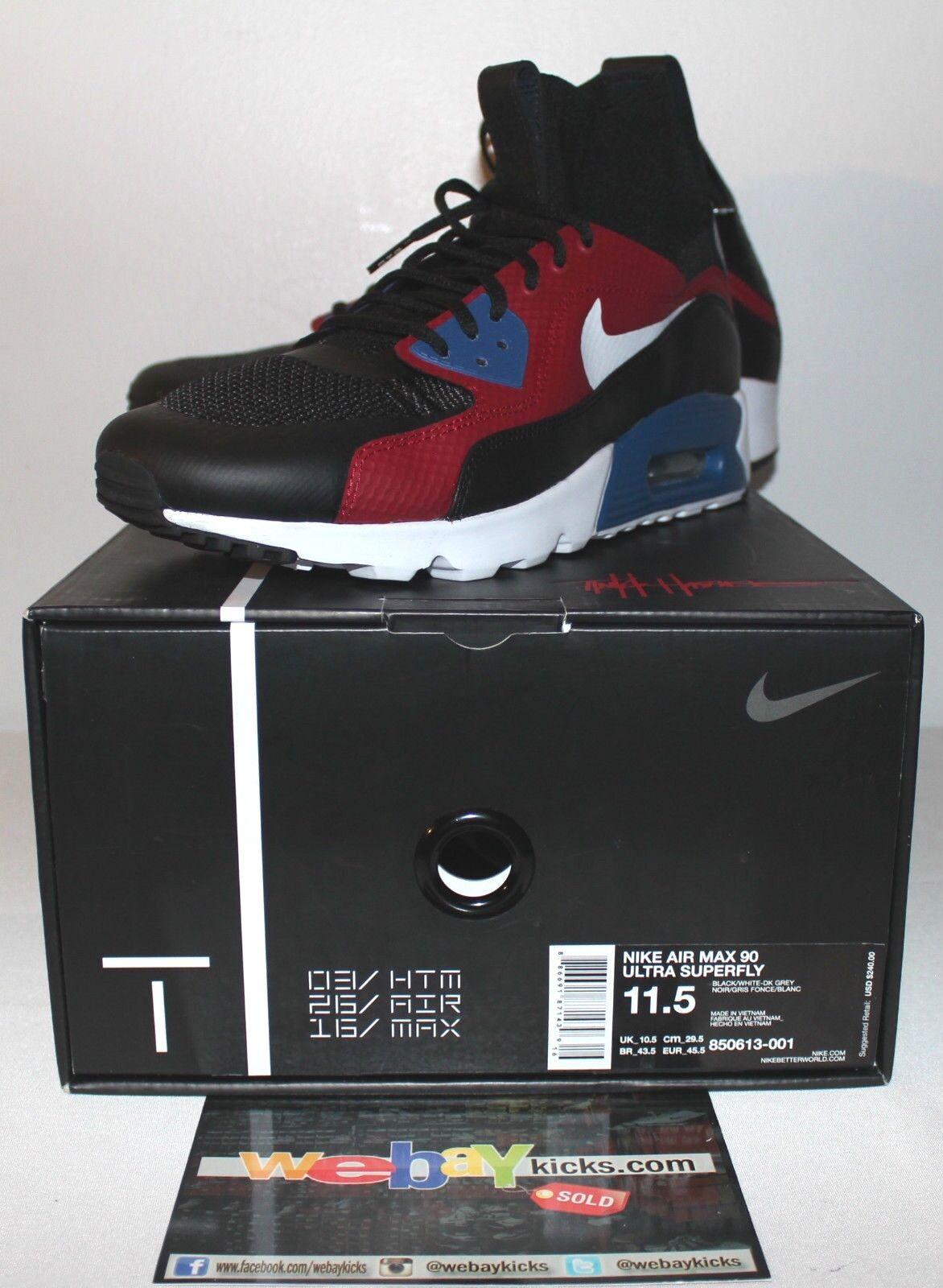 Nike Air Max 90 Multi Ultra SuperFly Tinker Hatfield Multi 90 Baskets Hommes 1aae17