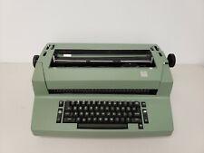 Ibm Correcting Selectric Ii Typewriter Green As Is Partsrepair Powers On Read