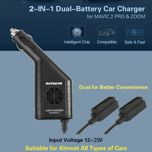 2-in1-USB-Car-Charger-Remote-Control-Battery-Charger-For-DJI-Mavic-2-Pro-Zoom