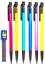 6-x-AUTOMATIC-PROPELLING-WRITING-PENCILS-SET-12-Refills-0-7mm-Nib-HB-Mechanical thumbnail 1