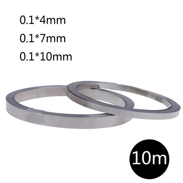 5m Length 4*0.1mm  Ni Plate NickelStrip TapeFor Li 18650 Battery Spot Welding