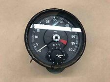 Jaguar XKE MK1 MK2 SMITHS Tachometer Tach RPM Gauge CLOCK RV 7403/02 Instrument