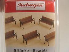 Auhagen 41199 8 Bänke H0