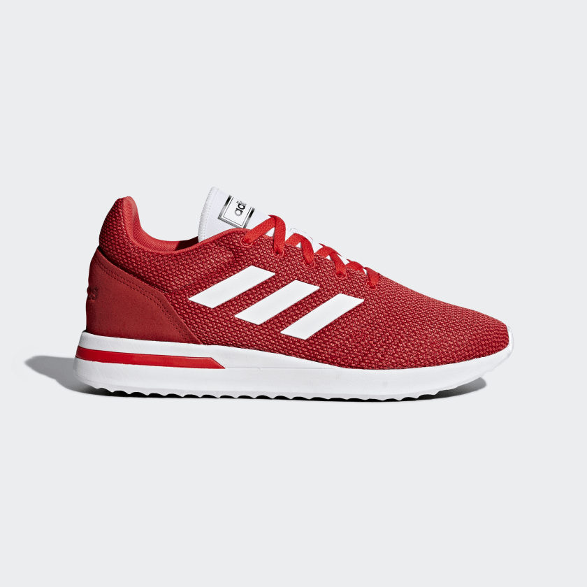 Adidas Chaussures Run70s- Run 70s Homme Rouge B96556 Baskets Original Casual